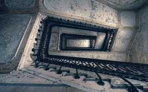 Картинка фон, лестница, перила