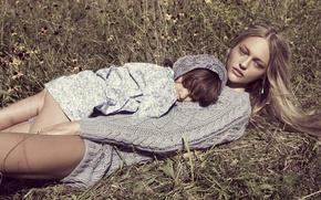 Картинка Sasha Pivovarova, Саша Пивоварова, Vogue (Paris)