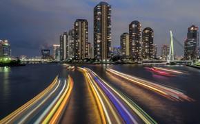 Обои Япония, Eitai Bridge, Токио