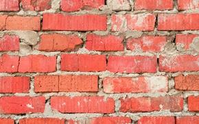 Картинка wall, concrete, cement, Bricks