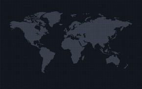 Картинка мир, материки, планета земля, карта мира