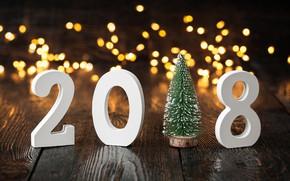 Обои елка, New Year, праздник, Новый год, 2018, елочка