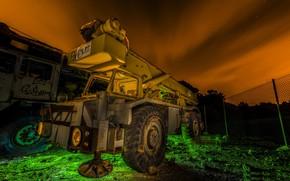Обои Heavy Machines, ночь, цвет