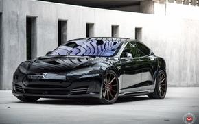 Картинка Forged, Tesla, Vossen, Model S