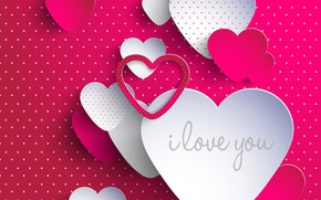 Картинка love, heart, pink, Valentine, 2017