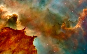 Обои космос, звезды, NASA, туманности