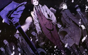 Картинка аниме, арт, парни, Joker Game