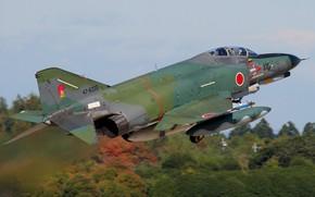 Картинка истребитель, взлет, японский
