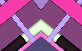 Картинка треугольники, тени, слои