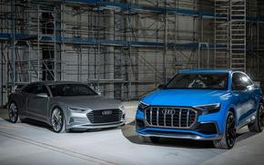 Картинка Concept, Audi, кроссвер