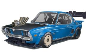 Обои Рисунок, Luce, Mazda RX-4