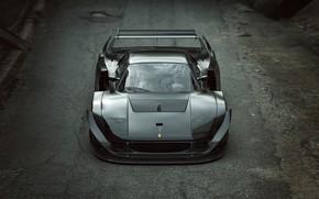 Обои дизайн, F40 LM Extreme, дорога, автомобиль, асфальт