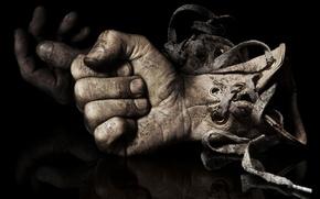 Картинка cinema, movie, fear, hand, film, fingers, glove, terror, SAW, boxe, SAW 6