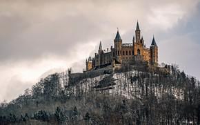 Картинка природа, Germany, Castle Hohenzollern