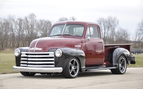 Картинка Chevrolet, Truck, Wheels, 3100, Forgeline, Shop, on, Schism, Grip Equipped