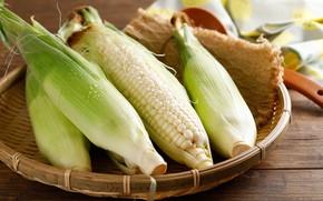 Картинка капли, корзина, кукуруза