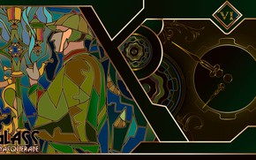Картинка glass detective, Glass masquerade, puzzle game