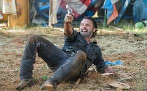 Картинка The Walking Dead, Andrew Lincoln, Rick, Season 7