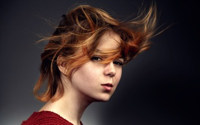 Картинка ветер, волосы, Sasha Dergachyova