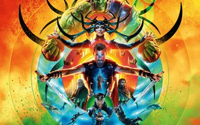 Картинка фантастика, фэнтези, Халк, Hulk, постер, комикс, Idris Elba, Идрис Эльба, Крис Хемсворт, MARVEL, Chris Hemsworth, …
