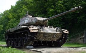 Картинка лёгкий танк, M41, Уолкер Бульдог