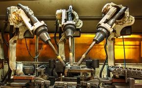 Картинка technology, cables, Robotic welder