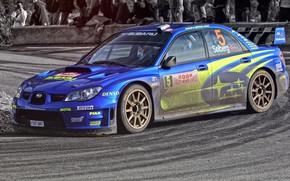 Обои Авто, Subaru, Impreza, Спорт, Машина, WRX, Автомобиль, STI, Субару, Импреза, WRX STI, Solberg, Rally, Ралли, ...