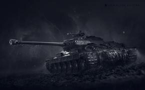 Картинка WoT, World of Tanks, Мир Танков, Wargaming Net, ИС-6, IS-6 Black Edition