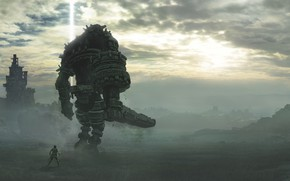 Картинка Shadow of the Colossus, Sony Interactive Entertainment, Сhasing a Сolossus