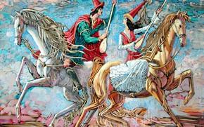 Картинка Казахстан, Айбек Бегалин, 2007г, Айтыс, домбра