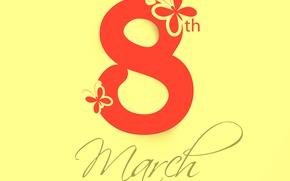 Картинка 8 марта, женский день, поздравляю