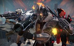 Картинка Concept, gun, soldiers, weapon, Destiny, Destiny: Rise of Iron, Destiny Rise of Iron