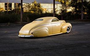 Картинка yellow, custom, 1940, Mercury