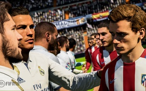 Картинка sport, Cristiano Ronaldo, game, FIFA, Real Madrid CF, FIFA 18