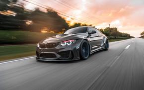 Картинка Sight, BMW, Dynamic, LED, Sunset, Graphite, F82, Evening