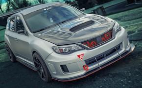 Обои Subaru, Impreza, WRX Hatchback