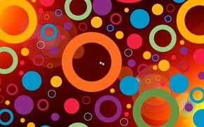 Обои абстракция, текстура, кольца, круги