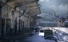 Картинка здание, Санкт-Петербург, заброшенность, Sanctum, промышленный индустриальный пейзаж