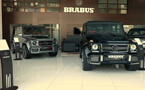 Обои G-class, Mercedes, AMG, G63, Brabus, W463