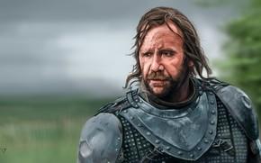 Обои Игра престолов, The Hound, Сандор Клиган, Game of Thrones, арт