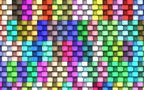 Картинка Tekstura, Kolorowe, Kwadranty