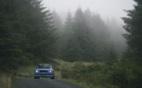 Картинка лес, bmw, бмв, e30