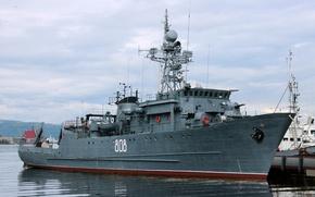 Обои ВМФ, морской, тральщик, Комендор, проект 266м