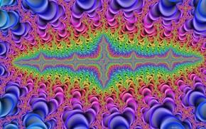 Обои узор, геометрия, яркие цвета, psychedelic, кислота, грёзы, psy, импульсы, переплетенье
