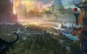 Картинка постройки, поселение, Shuxing Li, The xuan empire