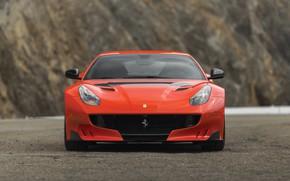 Картинка Ferrari, суперкар, вид спереди, F12, 2017, TDF