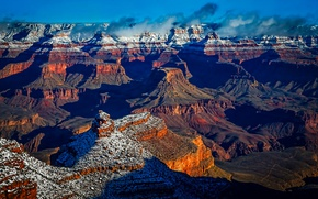 Картинка утро, США, Arizona, Grand Canyon, Grand Canyon National Park
