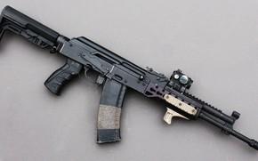 Картинка оружие, автомат, weapon, кастом, custom, Калашников, АКМ, AKM, штурмовая винтовка, assault Rifle