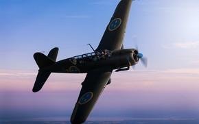 Картинка Saab, лёгкий бомбардировщик, B 17A