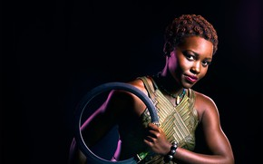 Картинка cinema, weapon, man, movie, blade, film, bracelet, Black Panther